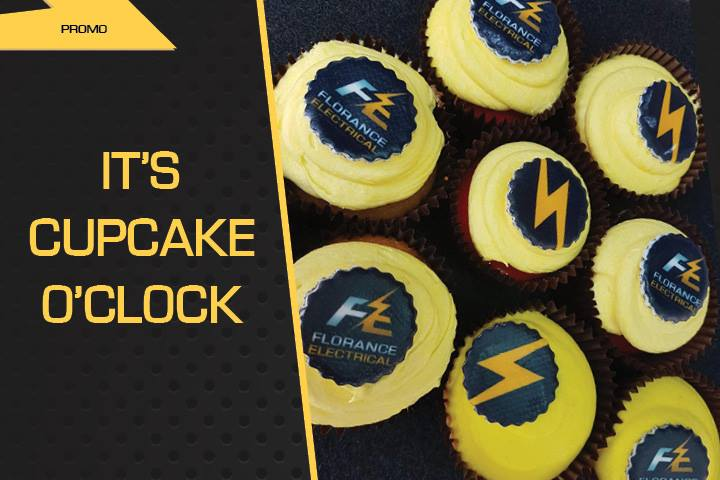 It's cupcake o'clock | Florance Electrical